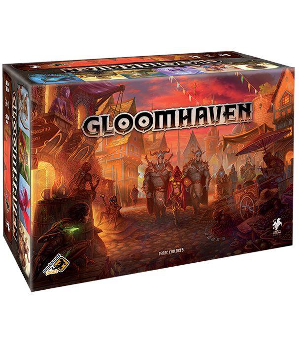 Gloomhaven + 6 Playmats Individuais (Pré-venda)