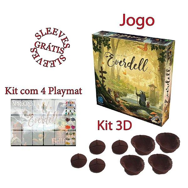 Everdell + Sleeve + Playmat + Kit 3D