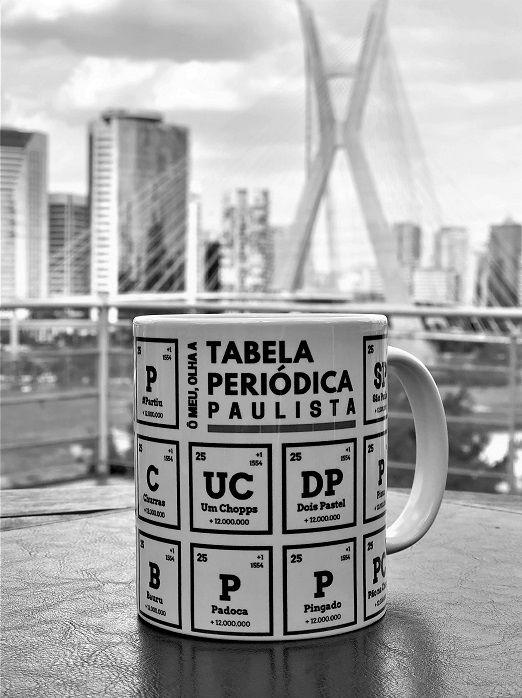 Caneca Tabela Periódica Paulista