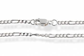 corrente de prata figaro