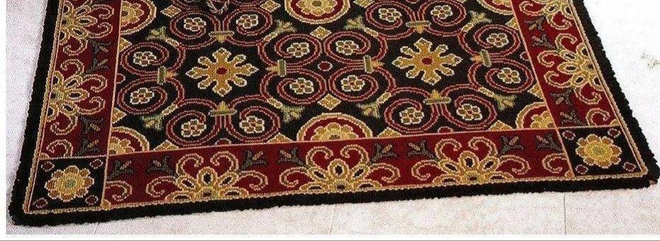 Juta Arabescos Floral # 96