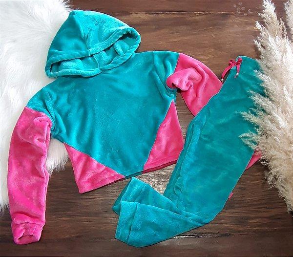 Conjunto Fofinho Tiffany/Pink