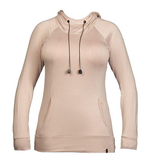 Vest legging c/ capuz visco lycra