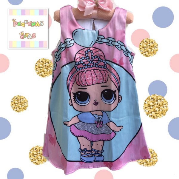 Vestido Boneca Lol Surprise Crystal Queen Rara