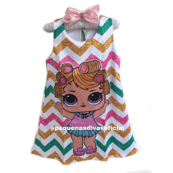 Vestido Boneca Lol Surprise Babydoll