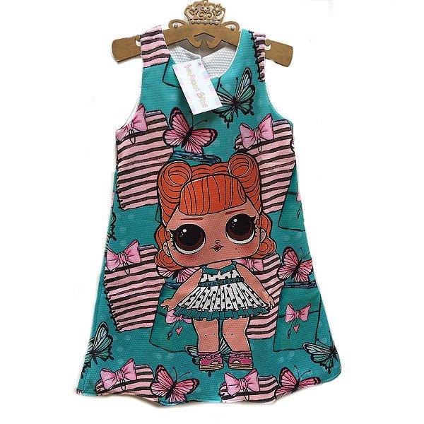 Vestido Boneca Lol Surprise Jitterbug