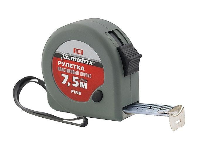 TRENA CURTA FINE 7,5M X 25MM MTX 310189