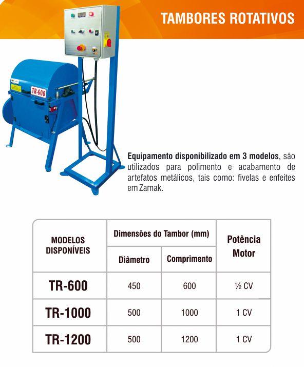 TAMBORES ROTATIVOS TR-600