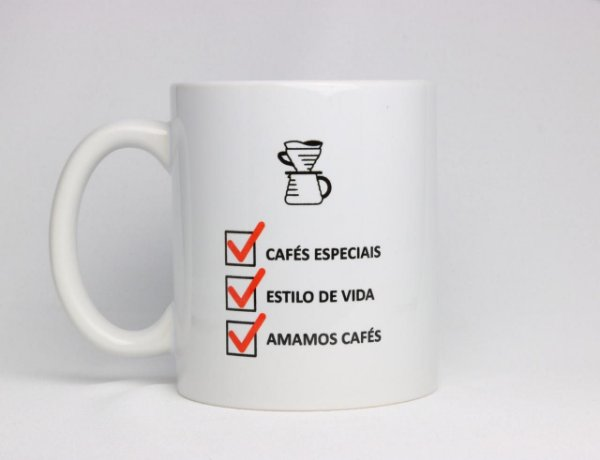 Caneca Cafés Especiais