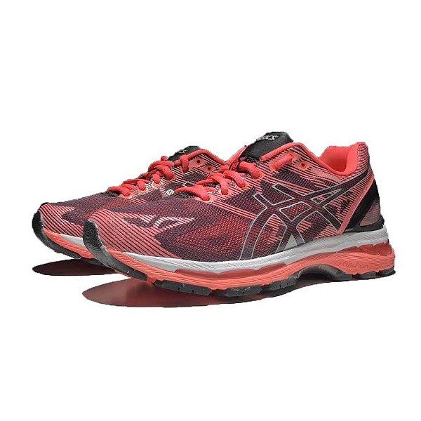 Tênis Asics Gel Nimbus 19 - Feminino - Laranja - Shoes Hub - Seu ... d815966a906cb