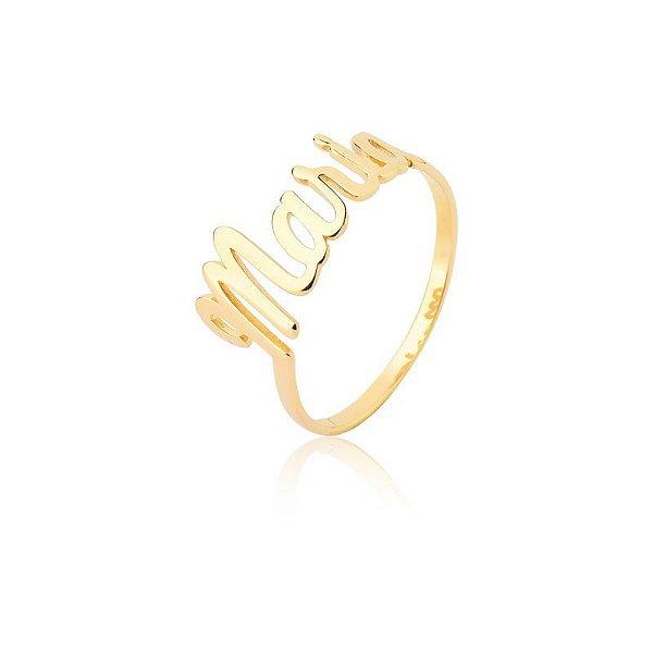 ANEL NAME GOLD -Prata 925