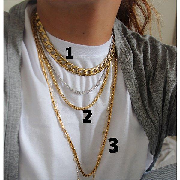 New! Colar Gold 2 (50 cm)