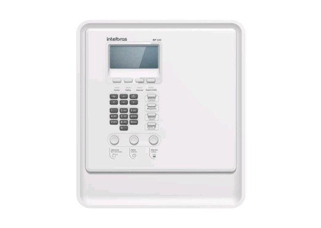 Central alarme de incêndio intelbrás