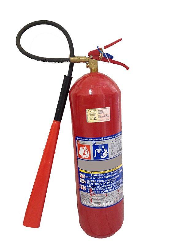Extintor de incêndio gás carbônico CO2 06Kg