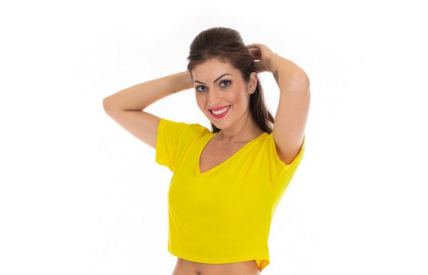 90ed00adb CROPPED AMARELO MULLET - Luvitex Fitness