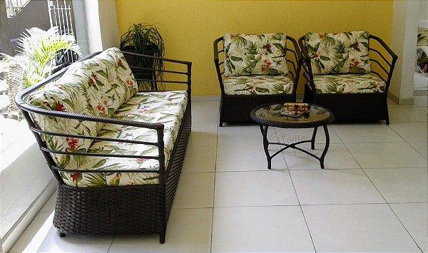 Jogo de sofá Ararate 4 pçs