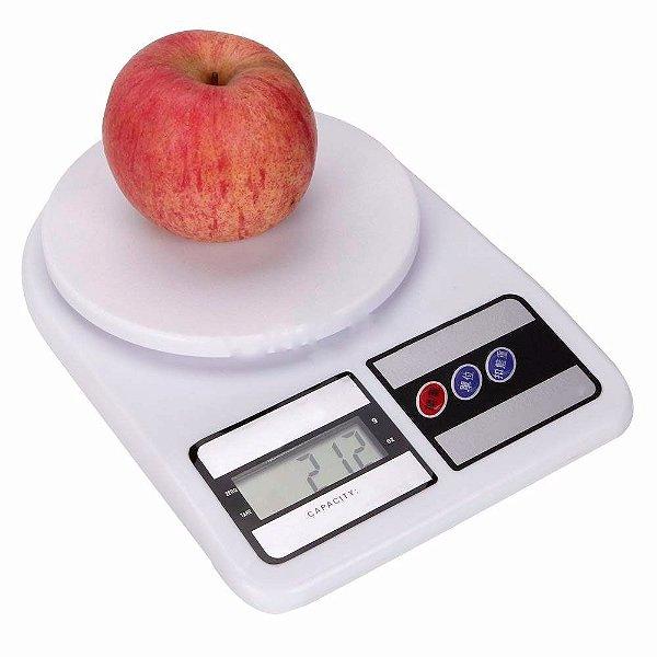 Balança Digital de Cozinha Alta Precisão 123 Util com Variação de Peso de 1 g até 10 kg - UD130