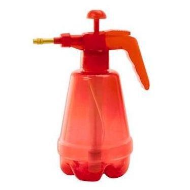 Pulverizador e Borrifador Hammer de Plástico Transparente Vermelho de 1200 ml - Tamanho 30 x 12 x 19 cm - Ref. PA-1200