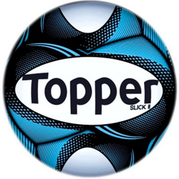 Bola Topper Futebol Society Slick II - Cor 35 Azul