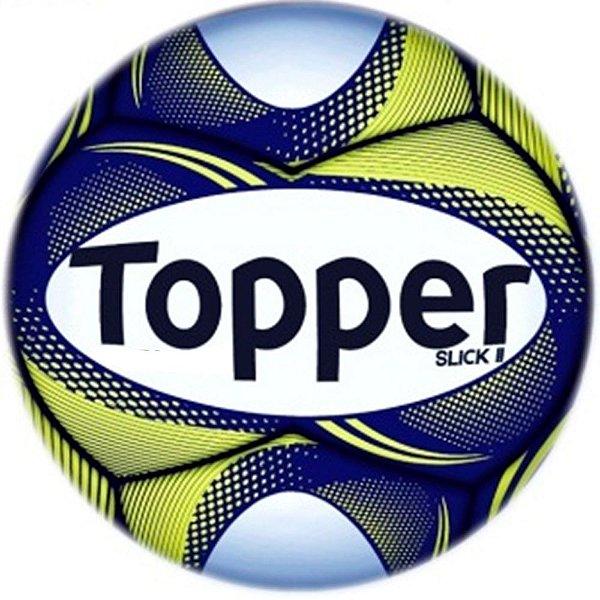 Bola Topper Futebol de Campo Slick II - Cor 310 Amarela