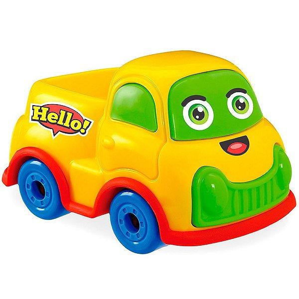 Carrinho de Brinquedo Car Toons - Pick UP Usual Plastic Brinquedos - Ref. 356