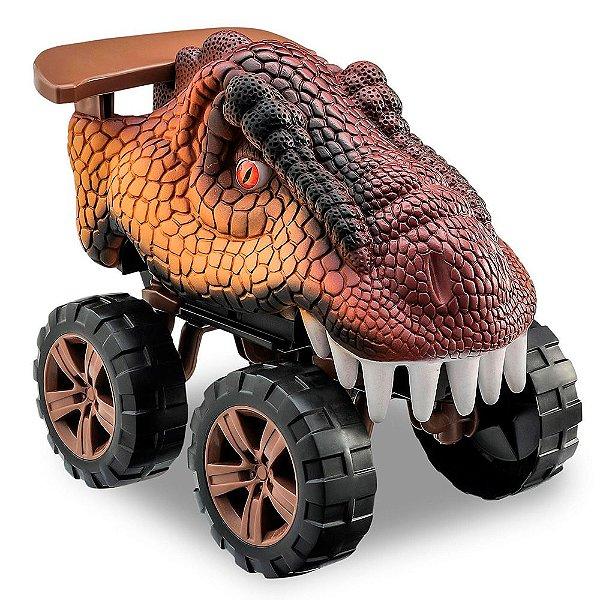 Carro Animals Off Road Dinossauro T-Rex Usual Plastic Brinquedos - Ref. 288
