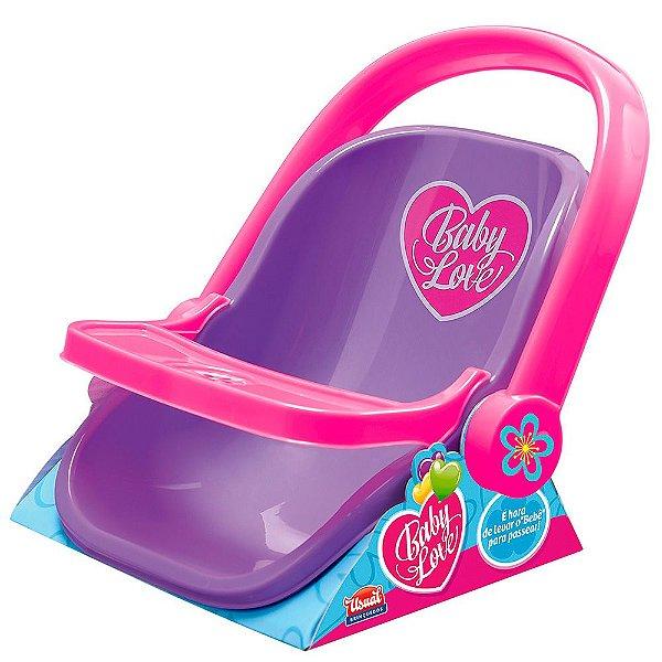 Bebê Conforto Baby Love Base Colorido Usual Plastic Brinquedos - Ref. 281