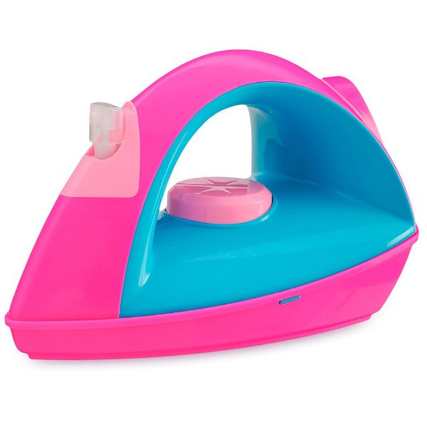 Ferrinho de Passar com Compartimento e Spray para Borrifar Água Usual Plastic Brinquedos - Ref. 204