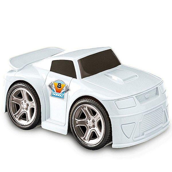 Carro Bobby Fricção e Rodas Cromadas Usual Plastic Brinquedos - Ref. 144