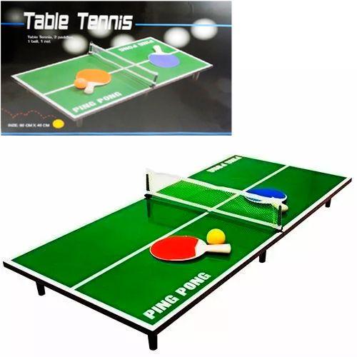 Mini Mesa de Ping Pong Tênis de Mesa Infantil Portátil Westpress 40 x 15 x 90 cm