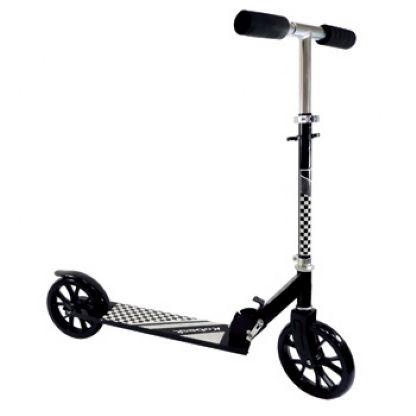 Patinete Scooter Adolescente Adulto Dobrável Reforçado até 100 Kg - Roda Aro 220mm - Cor: Preto
