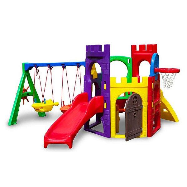 Petit Play com Balanço Freso Brinquedos 325 × 330 × 148 cm - Ref.33335