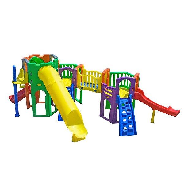 Playground Twister Freso Brinquedos 600 × 630 × 220 cm - Ref.27190