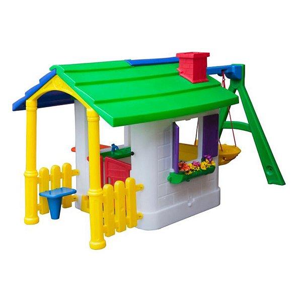 Casinha de Campo Standard com Kit Fly Freso Brinquedos 250 × 160 × 140 cm - Ref. 31229-C