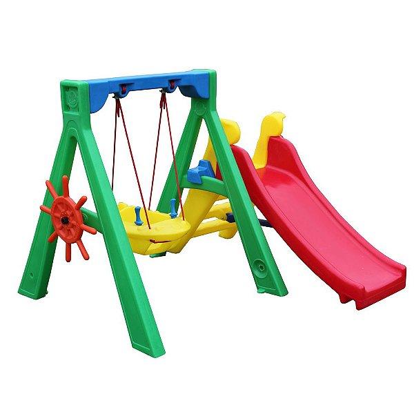 Baby Play com balancinho Jet Freso Brinquedos 152 × 165 × 120 cm - Ref. 24149-B