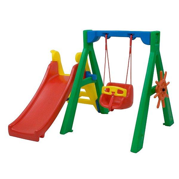 Baby Play com Balanço bebê Freso Brinquedos 152 × 165 × 120 cm - Ref. 24149-A