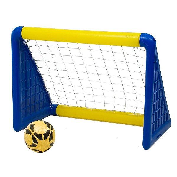 Gol com Bola Freso Brinquedos 70 × 114 × 87 cm - Ref. 98110