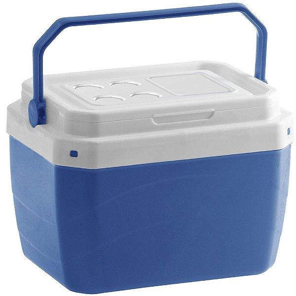 Caixa Térmica de Plástico 40 Litros Paramount Azul 50,5 x 37 x 40 cm   - Ref. 856