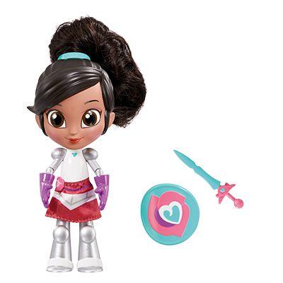 Boneca Princesa Nella DTC Guerreira Estilosa 16 cm - Ref. 4690