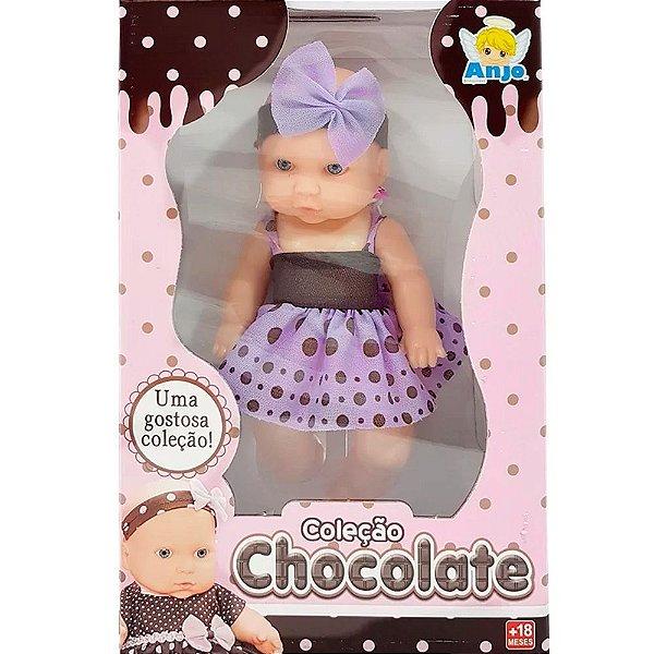 Boneca Coleção Chocolate Anjo Brinquedos - Ref: 929