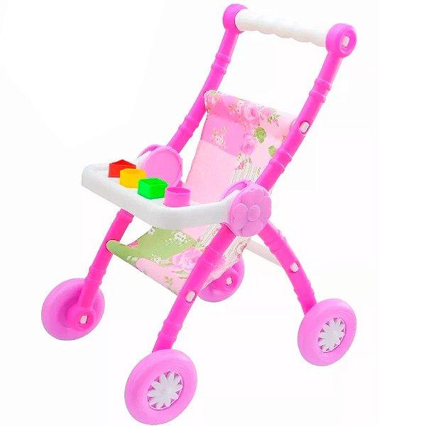 Carrinho de Boneca Role do Bebê Anjo Brinquedos - Ref: 982