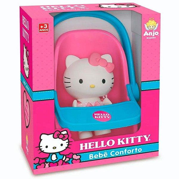 Boneca Hello Kitty com Bebê Conforto Anjo Brinquedos - Ref: 9070
