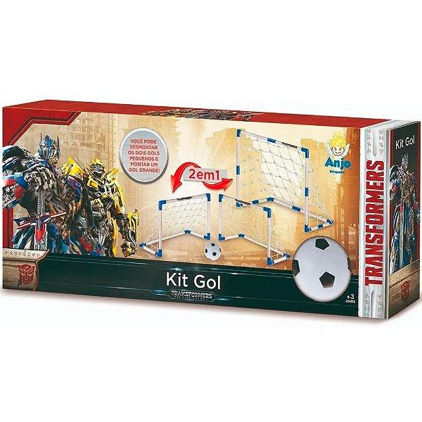 Kit Gols e Bola Transformes Anjo Brinquedos - Ref: 9062