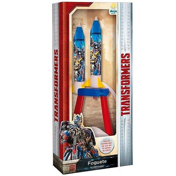 Foguete Transformes de Brinquedo que Voa de Verdade  Anjo Brinquedos - Ref: 9061
