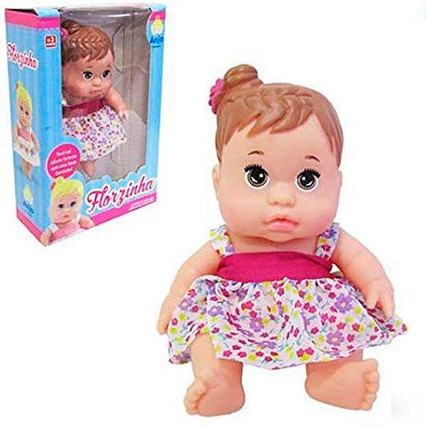 Boneca Florzinha Anjo Brinquedos - Ref: 2103