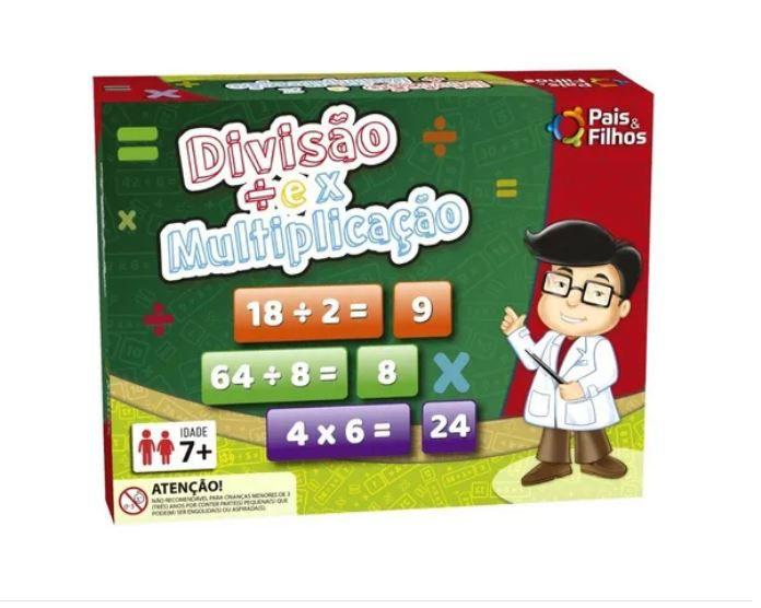 Jogo Divisão Multiplicação Infantil Matemática