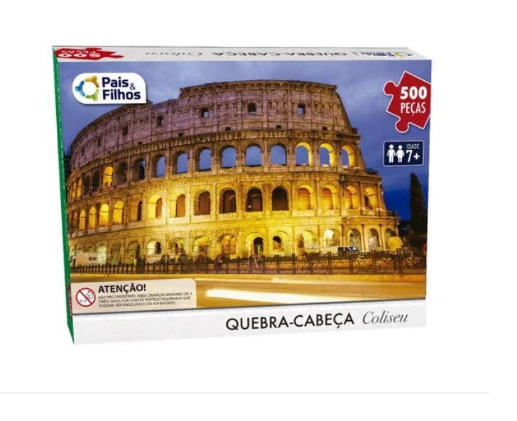 Quebra-cabeça Puzzle 500 Peças Coliseu