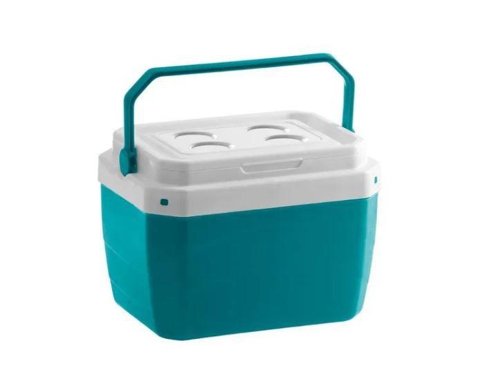 Caixa Térmica de Plástico 17 Litros Paramount Verde 25 x 39 x 31 cm - Ref. 854