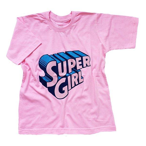 Camiseta Super Girl - Humanos - Baby Look