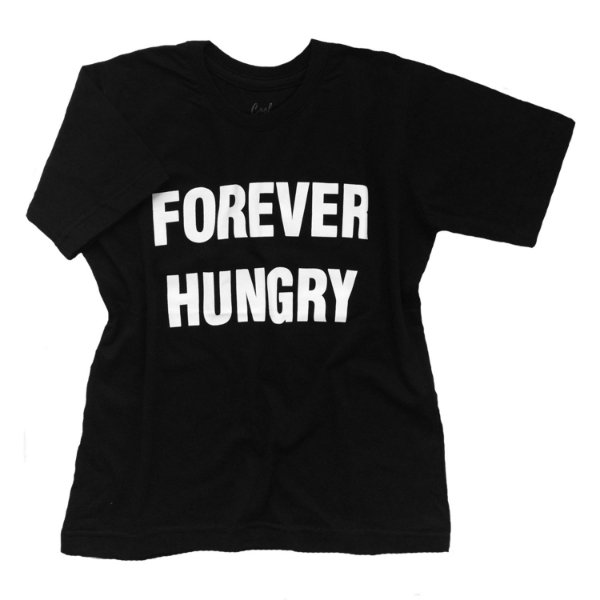 Camiseta Forever Hungry - Humanos